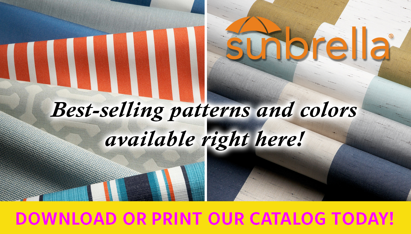 New 2016-2017 Sunbrella Patterns at Low Prices!